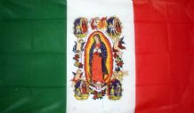 LADY OF GUADALUPE - 5 X 3 FLAG